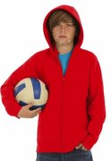 Kinder Hooded Full Zip B&C kids