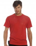 Heren Werk T-shirt B&C Perfect Pro