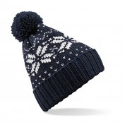 Kinder Muts Beechfield Junior Fair Isle Beanie B456B