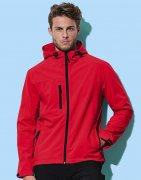 Heren Softshell Jas Stedman Hooded ST5240