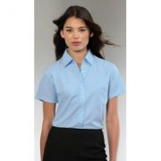 Dames blouse Oxford Russell 933F korte mouw